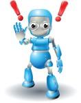 caution robot_facebook